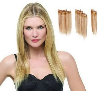 "Hairdo. by Jessica Simpson & Ken Paves 16"" 8-pc Straight Extension Kit"