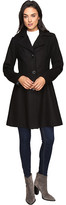 Betsey Johnson Button Up Wool Coat