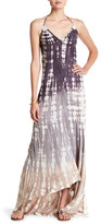 Young Fabulous & Broke Aidy Off-the-Shoulder Ombre Maxi Dress