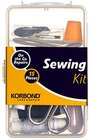 sewing-korbond 15 piece sewing kit multicolour