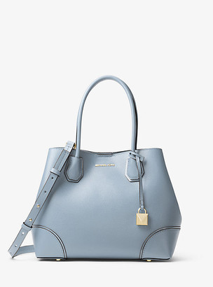 Michael Kors Mercer Gallery Medium Pebbled Leather Tote Bag