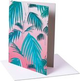 Matthew Williamson Pack of 6 Sunset Palm Greeting Cards