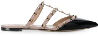 Valentino Rockstud slippers