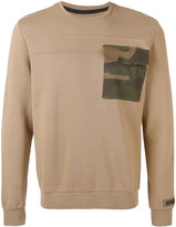 Hydrogen contrast patch sweater - men - Cotton - S