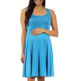 24/7 Comfort Apparel 24-7 COMFORT APPAREL A-Line Dress-Maternity