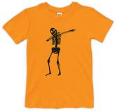 Urban Smalls Orange Dabbing Skeleton Tee - Toddler & Boys