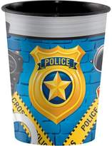 Creative Converting Police Party Plastic Keepsake Cup