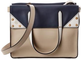 Fendi Flip Small Leather Shoulder Bag