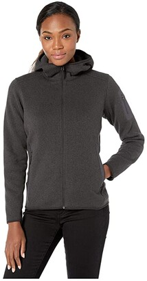Arc'teryx Covert Hoodie (Black Heather) Women's Sweatshirt