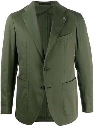 Tagliatore Montecarlo single-breasted blazer