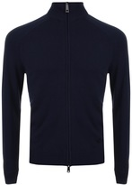 Giorgio Armani Jeans Full Zip Jumper Navy