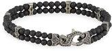Stephen Webster Men's Thorn Black Onyx & Sapphire Beaded Bracelet