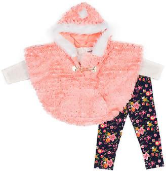 Little Lass Girls 3-pc. Legging Set-Baby