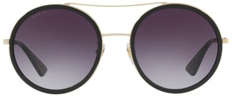 Gucci Metal Round Sunglasses