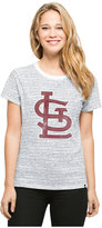 '47 Women's St. Louis Cardinals Sparkle Stripe T-Shirt