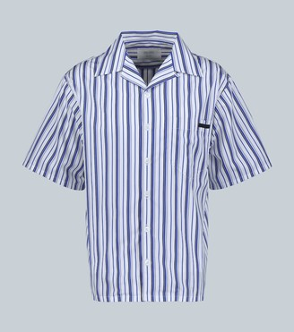 Prada Striped short-sleeved shirt