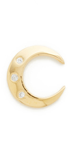 Jacquie Aiche JA Crescent Stud Earring