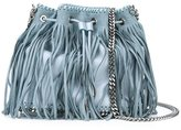 Stella McCartney 'Falabella' fringed bucket tote - women - Artificial Leather/metal - One Size