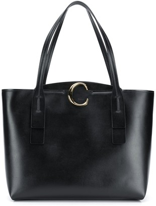 Chloé medium zipped C tote bag