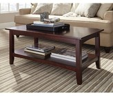 Three Posts Kerlin Coffee Table with Storage Color: Espresso