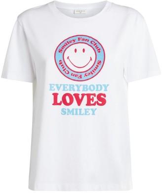 Sandro Paris Smiley Graphic T-Shirt