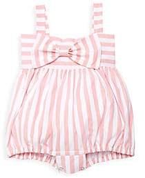 Isabel Garreton Baby Girl's Striped Cotton Romper