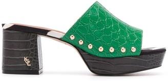 Kurt Geiger 70mm Beatriz sandals