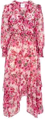 MISA Los Angeles Samantha Floral Midi Dress