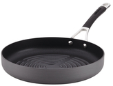 "Circulon 11.25"" Momentum Hard-Anodized Non-Stick Open Deep Round Grill Pan"