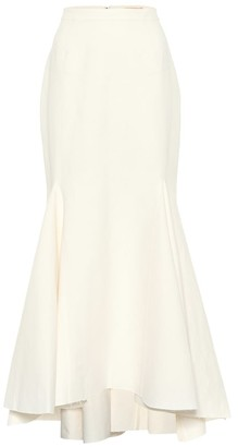 Brock Collection Occupation cotton and linen skirt