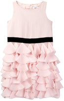 Milly Minis Petal Cocktail Dress (Toddler & Little Girls)