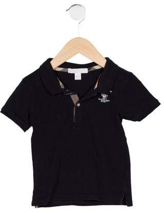 Burberry Boys' Logo Polo Shirt