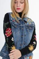 Belle Modelle - Denim Embroidered Jacket - 10
