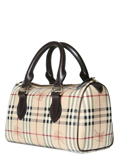 Burberry Large Chester Haymarket Top Handle Bag