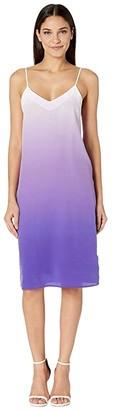 Equipment Jules Slip Dress (Hyacinth Multi) Women's Clothing