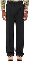 Maison Margiela Men's Worsted Wool Classic Trousers