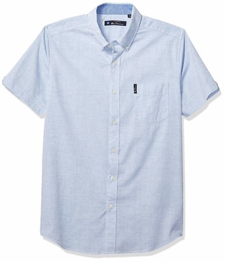 Ben Sherman Men's SS Heathered Shirt