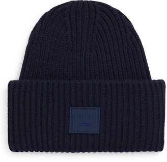Acne Studios Face Patch Wool Beanie