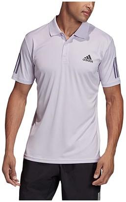 adidas Club Colorblock Polo (Purple Tint/Grey Six) Men's Short Sleeve Pullover