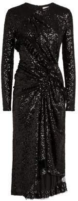 Preen by Thornton Bregazzi Farra Sequin Midi Dress
