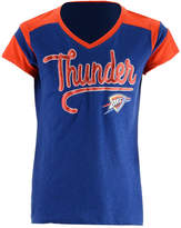 5th & Ocean Oklahoma City Thunder Contrast Slub T-Shirt, Girls (4-16)