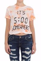 Wildfox Couture Happy Hour Crop