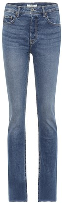 GRLFRND Addison high-rise straight jeans