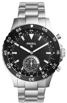 Fossil Q Crewmaster Stainless Steel Bracelet Hybrid Smartwatch