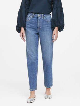 Banana Republic JAPAN EXCLUSIVE High-Rise Relaxed Straight Jean