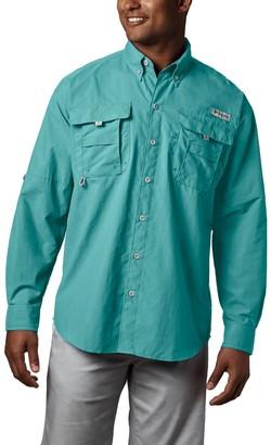 Columbia Men's PFG Bahama II Long Sleeve Woven Shirt