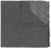 Faliero Sarti shimmer trim scarf