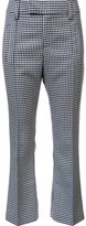 Smythe checked crop flare pants