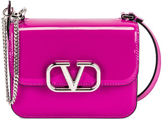 Valentino Small Shoulder Bag in Radiant Orchid | FWRD