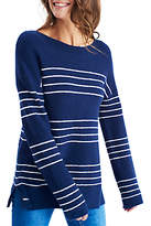 Joules Rowena Stripe Jumper, French Navy